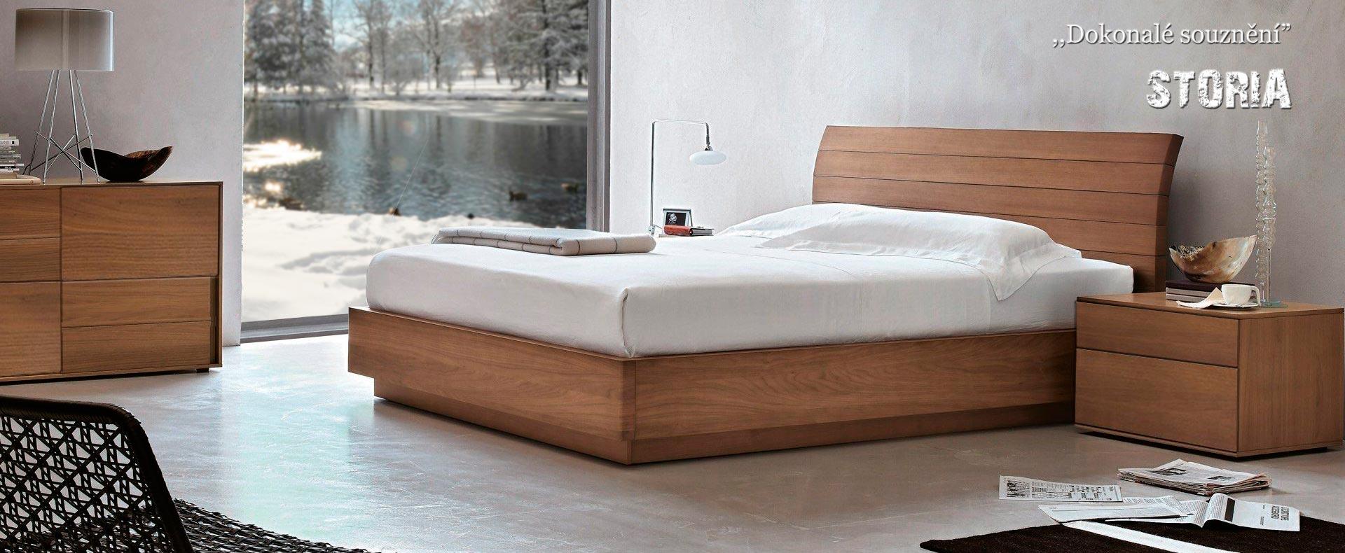 Manželská postel STORIA